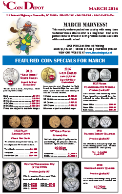 Rare Coin Express - March 2016