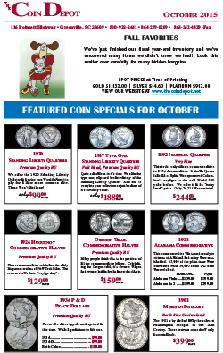 Rare Coin Express - October 2015