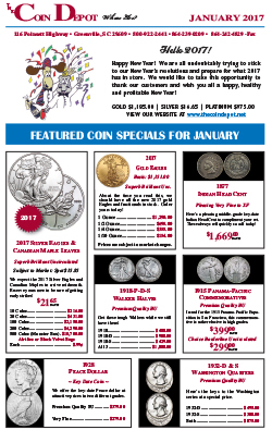 Rare Coin Express - January 2017