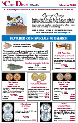 Rare Coin Express - March 2018