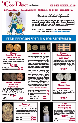 Rare Coin Express - September 2018