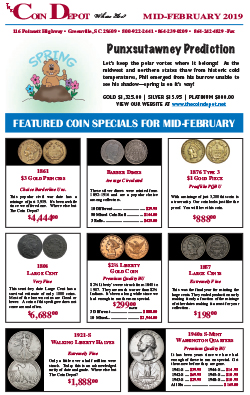 Rare Coin Express - Mid-February 2019