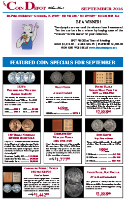 Rare Coin Express - September 2016
