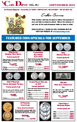 Rare Coin Express - September 2019