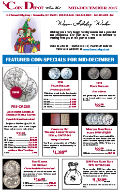 Rare Coin Express - Mid-December 2017