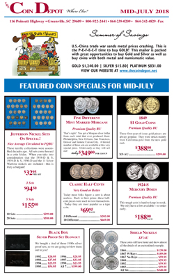 Rare Coin Express - Mid-July 2018
