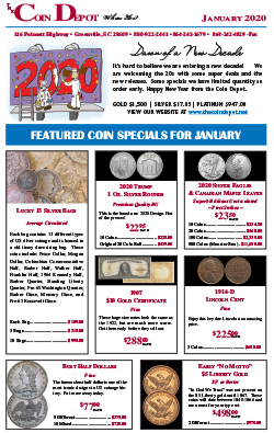 Rare Coin Express - January 2020