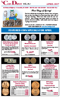 Rare Coin Express - April 2017