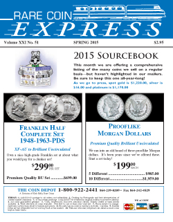 Rare Coin Express - May 2015