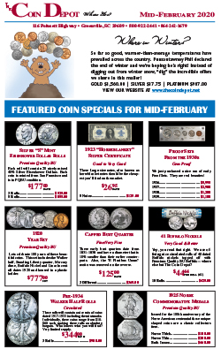 Rare Coin Express - Mid-February 2020