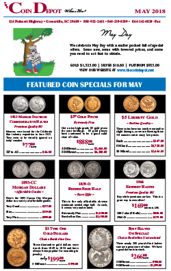 Rare Coin Express - May 2018