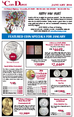 Rare Coin Express - January 2016