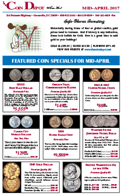 Rare Coin Express - Mid-April 2017