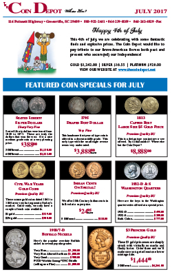Rare Coin Express - July 2017