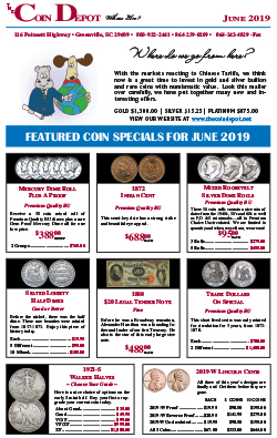 Rare Coin Express - June 2019