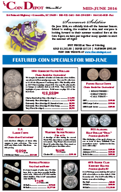 Rare Coin Express - Mid-June 2016