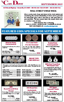 Rare Coin Express - September 2015