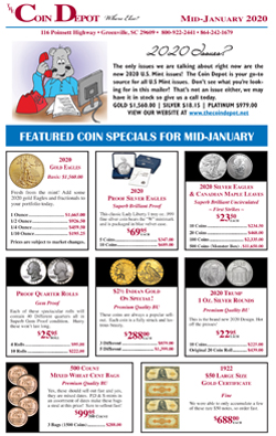 Rare Coin Express - Mid-January 2020