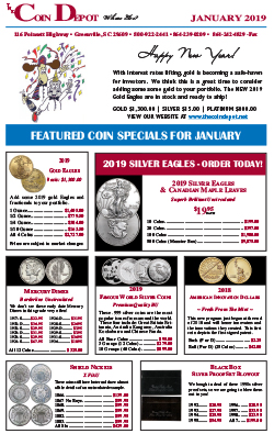 Rare Coin Express - January 2019