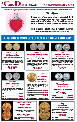Rare Coin Express - Mid-February 2017