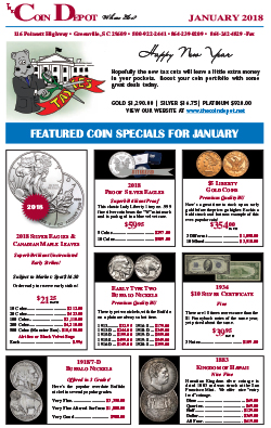 Rare Coin Express - January 2018