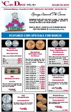 Rare Coin Express - March 2019
