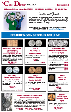 Rare Coin Express - June 2018