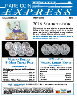 Rare Coin Express - May 2016