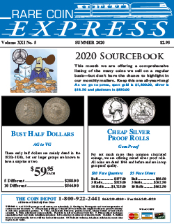 Rare Coin Express - Mid-July 2020