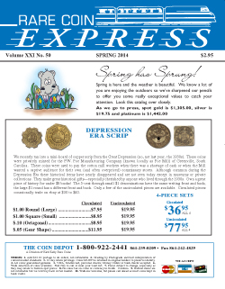 Rare Coin Express - May 2014