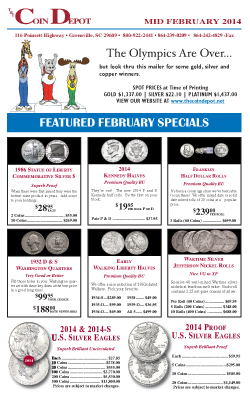 Rare Coin Express - Mid-February 2014