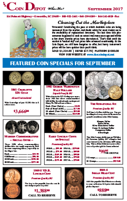 Rare Coin Express - September 2017
