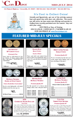 Rare Coin Express - Mid-July 2014