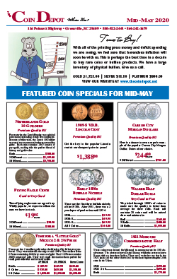 Rare Coin Express - Mid-May 2020