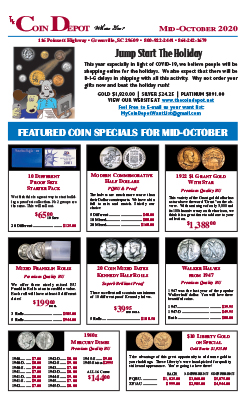 Rare Coin Express - Mid-October 2020