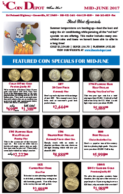Rare Coin Express - Mid-June 2017