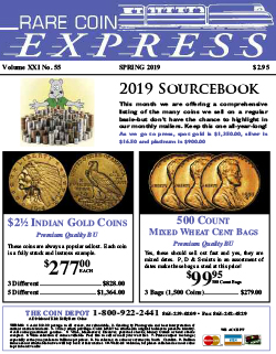 Rare Coin Express - April 2019