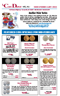 Rare Coin Express - Mid-February 2021