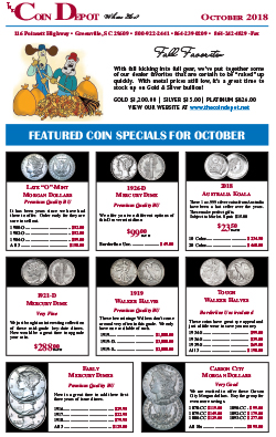 Rare Coin Express - October 2018