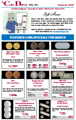 Rare Coin Express - March 2020