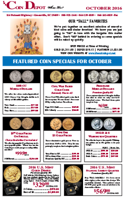 Rare Coin Express - October 2016