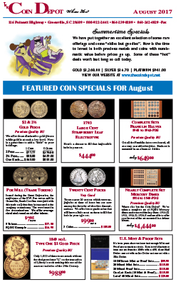 Rare Coin Express - August 2017