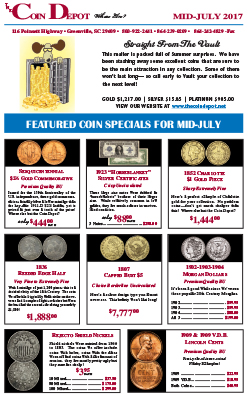 Rare Coin Express - Mid-July 2017