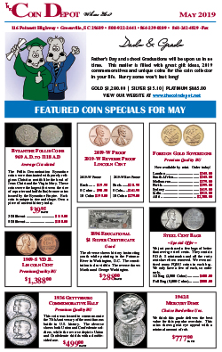 Rare Coin Express - May 2019