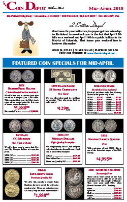 Rare Coin Express - Mid-April 2018