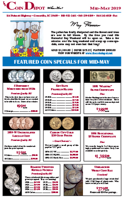 Rare Coin Express - Mid-May 2019