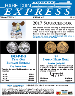 Rare Coin Express - May 2017