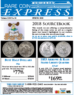 Rare Coin Express - April 2018