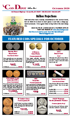 Rare Coin Express - October 2020