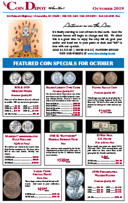 Rare Coin Express - October 2019